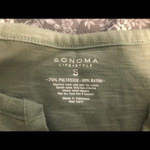 Green Sonoma tank top